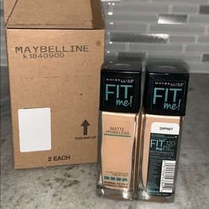 Maybelline Makeup - NIB Maybelline Fit Me Foundation